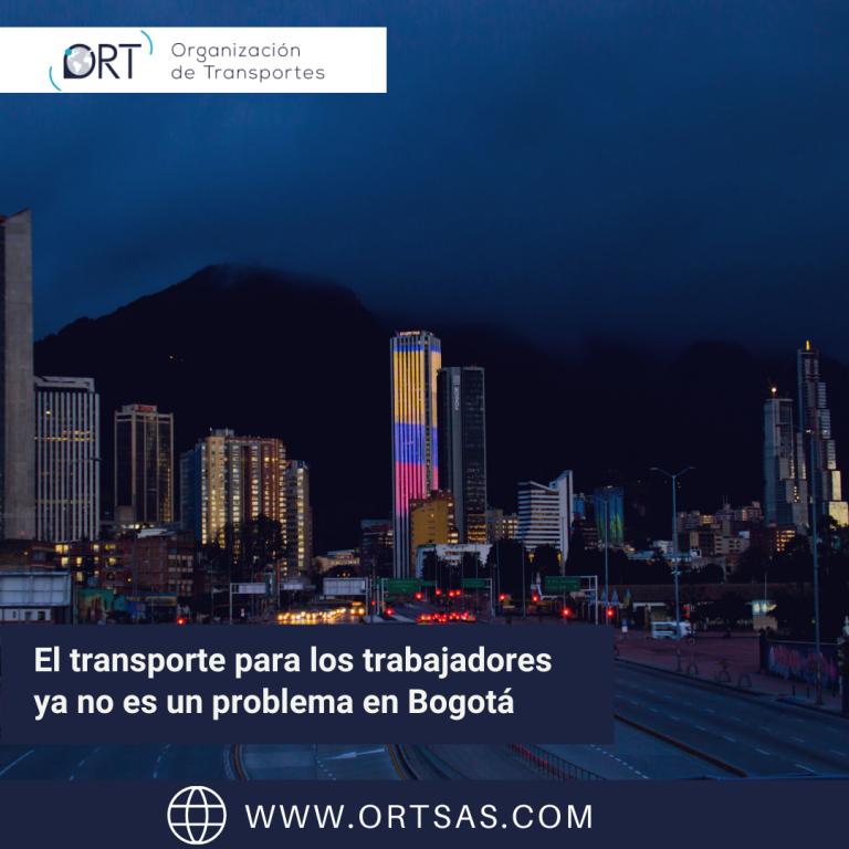 El transporte para los trabajadores ya no es un problema en Bogotá